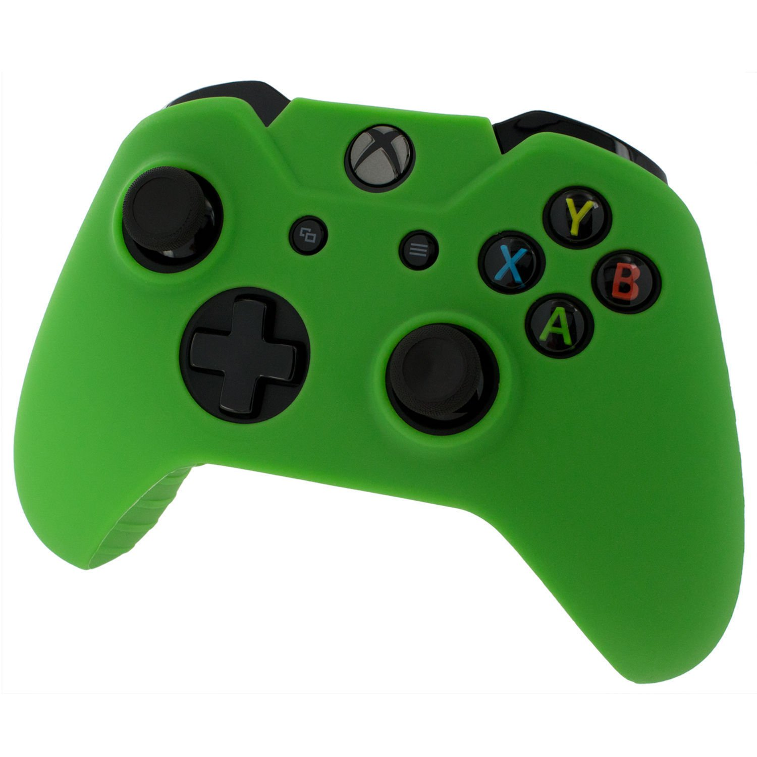 Green Xbox One Controller Covers Green With Free Thumb Stick Covers Xbox 1 Black Xb1
