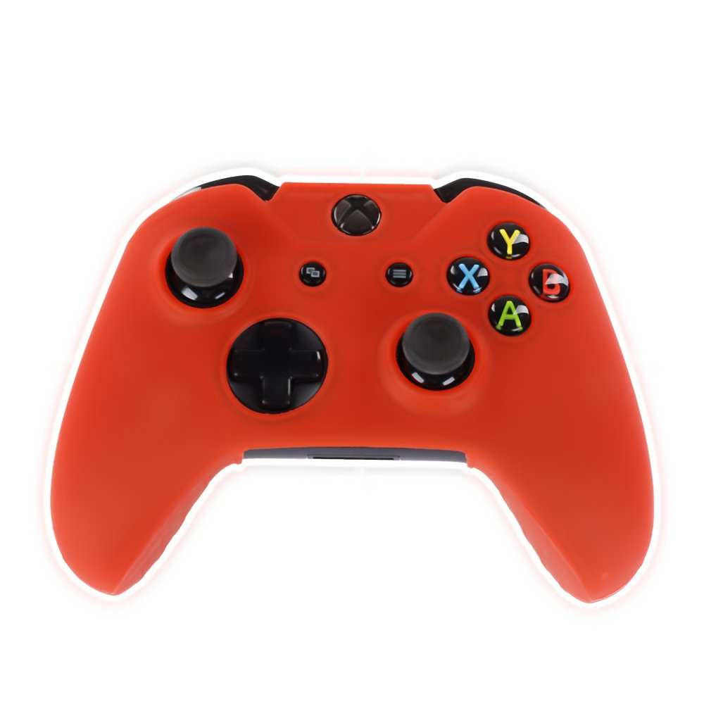 Red Xbox One Controller Covers Red With Free Thumb Stick Covers Xbox 1 Black Xb1