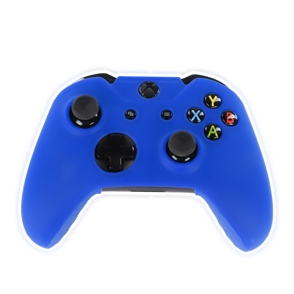 Blue Xbox One Controller Covers Blue With Free Thumb Stick Covers Xbox 1 Black Xb1