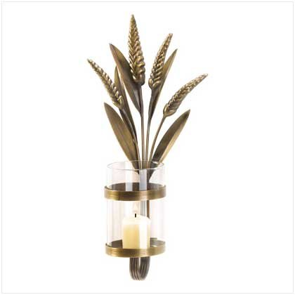 ORNATE SCROLL CANDLE SCONCE