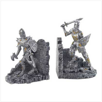 MEDIEVAL WARRIORS BOOKENDS