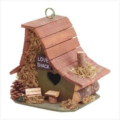 """LOVE SHACK"" BIRDHOUSE"