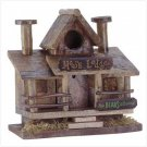 "''MOOSE LODGE"" BIRDHOUSE"