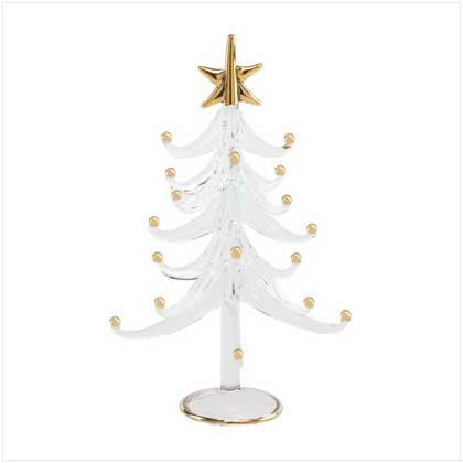 GLASS CHRISTMAS TREE