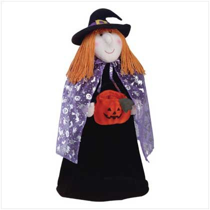PLUSH WITCH DOLL