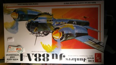 AMT 1/48 Junkers JU 88A-4 Germany's Finest WWII Bomber Model Kit
