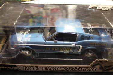 Greenlight 1968 Mustang 2+2 Fastback 1/18 Drag Car