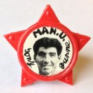 Tony Dunne Man Utd Vintage Star Badge