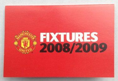 Man Utd 2008-2009 Fixture List