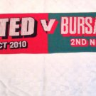 Man Utd v Bursaspor Scarf 2010-2011 Champions League