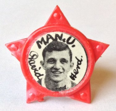 David Herd Man Utd Vintage Star Badge