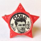Johnny Giles Man Utd Vintage Star Badge