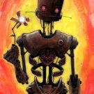"""""""LoveBot"""" Limited Edition Art Print, Signed & Numbered"""