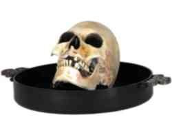 Halloween Animated Skull Candy Bowl With Sound