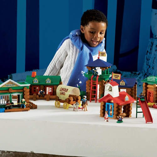 Lincoln Logs Stony Brook Town