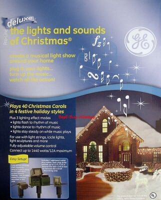 - DELUXE - Holiday Indoor / Outdoor Christmas Music & Motion Light Show