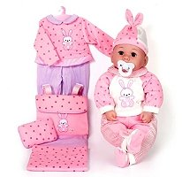 Baby Allie Deluxe Dress & Playset