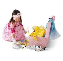 Miss Princess Dress Up Pink Trunk