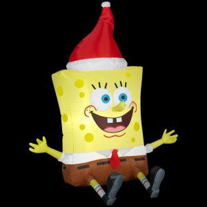 Holiday Airblown Inflatable Nickelodeon SpongeBob Squarepants