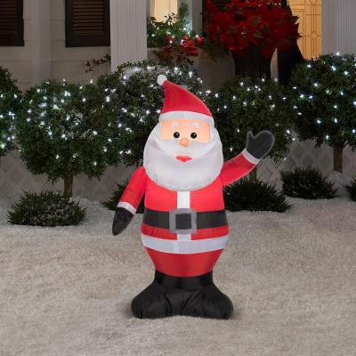 Christmas Holiday Airblown Inflatable - Santa Claus
