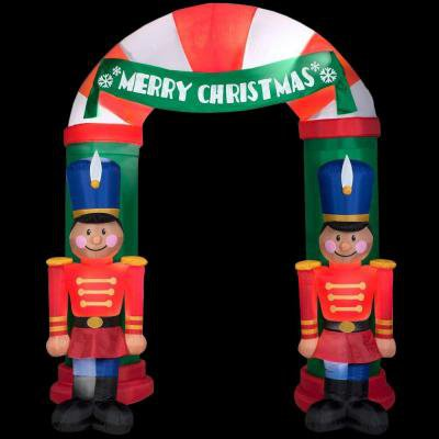 Christmas Holiday Airblown Inflatable - Nutcracker Archway (8 ft.)