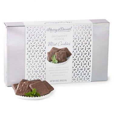 Harry & David Fudge Mint Cookies (4 - 9.4 oz. Trays)