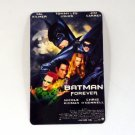 BATMAN FOREVER CALENDAR CARD 2001 MOVIE CINEMA TOMMY LEE JONE JIM CARREY FN