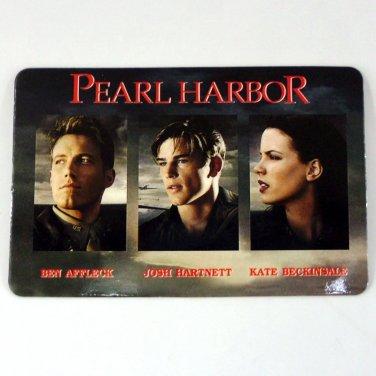 PEARL HARBOR CALENDAR CARD 2002 MOVIE CINEMA BEN AFFLECK JOSH HARTNETT FN