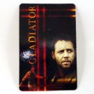 GLADITOR CALENDAR CARD 2002 MOVIE CINEMA RUSSELL CROWE WARRIOR ROME FN