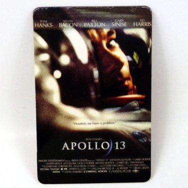 APOLLO 13 CALENDAR CARD 2001 MOVIE CINEMA TOM HANKS KEVIN BACON ED HARRIS FN