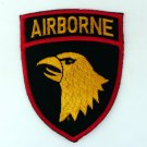 AIRBORNE IRON ON PATCHES EMBROIDERED EMBLEM SEW SERGEANT EAGLE US BADGE FN