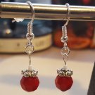 Red and Silver Swarovski Pair