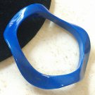 Blue Wavy Bracelet