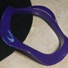 Purple Wavy Bracelet