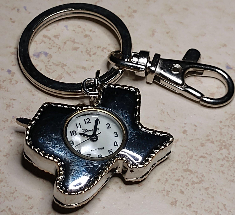 Texas Longhorn Watch Keychain