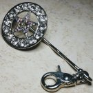Western Star Crystal Keychain Finder
