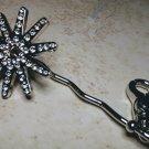 Western Spur Crystal Keychain Finder