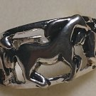 Western Horse Ring Size 8