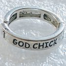 Religious God Chick Stretch Ring