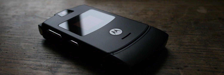 ORIGINAL Motorola RAZR V3 Silver Blue 100% UNLOCKED Cellular Phone GSM 2016 FREE