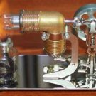 Hot Air Stirling Engine Motor Model Educational Toy Kits Electricity Mini 8 FREE