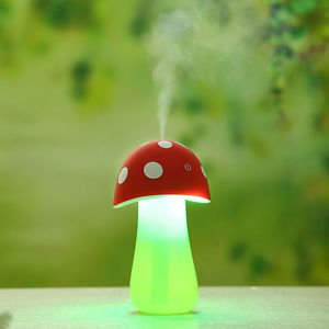 2015 USB Aroma LED Water Purification System Mini Mushroom Lamp Humidifier Gift