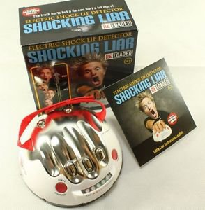 NEW! Polygraph Shocking Liar Electric Shock Lie Detector Truth Game Christmas 15