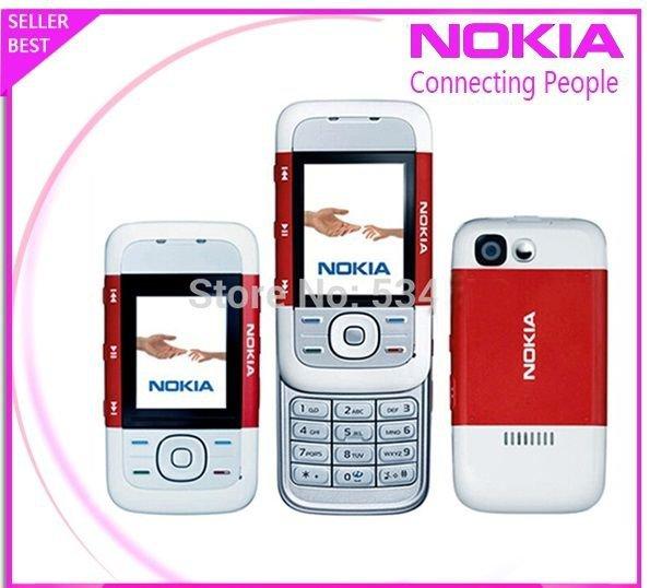 ORIGINAL Nokia XpressMusic 5300 Red 100% UNLOCKED GSM Cellular Phone Warranty 99
