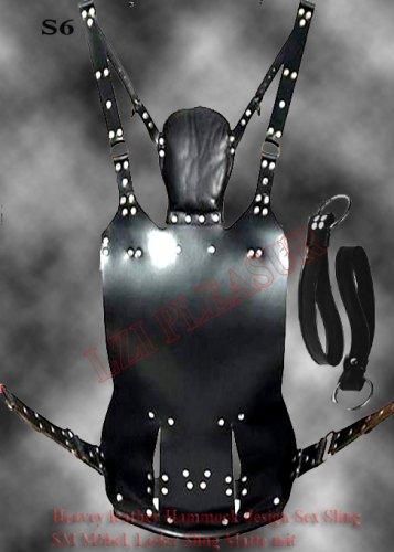 Leather Hammock Sex Sling S5 / SM Möbel, Leder Sling Matte mit