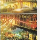 POSTCARD - SINGAPORE - Chinatown at night - Unused, early 2000s