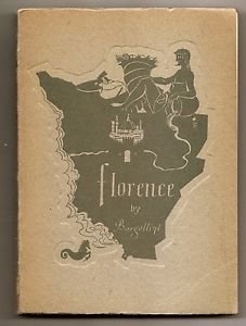 FLORENCE ITALY Historical and Artistic Guide Book P. Bargellini Ed. Azienda 1960