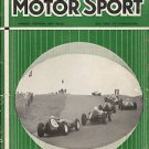 MOTOR SPORT Magazine English automobile car track racing July 1959 Triumph etc