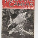 MINIATURE CAMERA MAGAZINE Great Britain - March 1943
