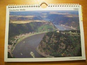 GERMANY Deutsche Welle Shortwave Radio 1990 Calendar Rheinland Pfalz Photos